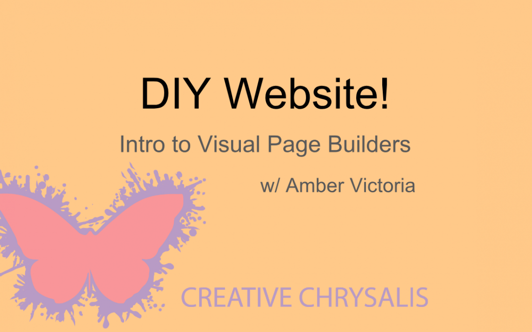 DIY Website! Webinar